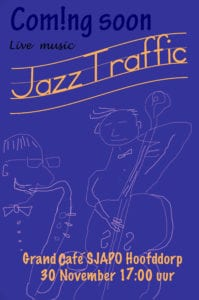 Jazz Trio JazzTraffic Grand Café Sjapo