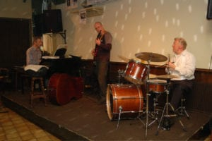 Jazz Trio JazzTraffic in Jazz Club Langs de Lijn