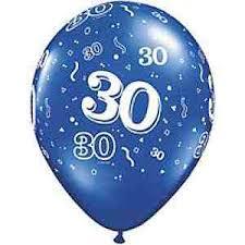 30 jaar huwelijksverjaardag