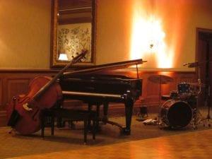 Live muziek huwelijk met een jazz duo of jazz trio